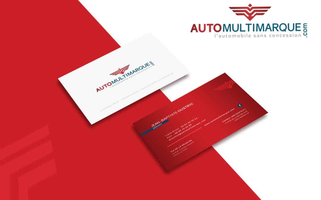 Logo et carte de visite auto multimarque