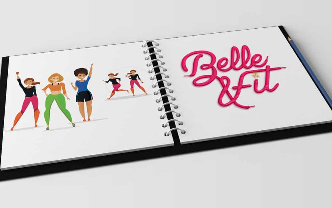 Illustration Belle&Fit