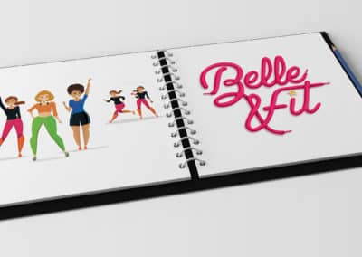 Illustration Belle&Fit