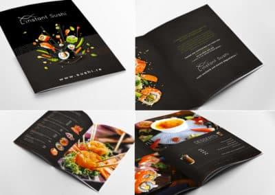 Dépliant Instant Sushi