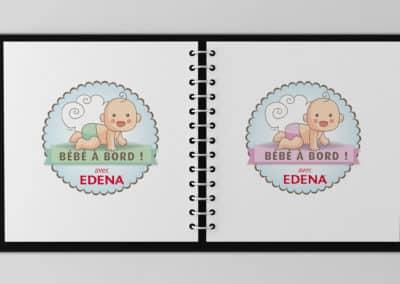 Stickers Bébés