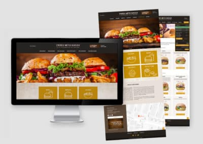 Webdesign Frères Metis Burger